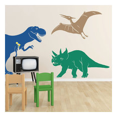 Wall Decal,Medium Dinosaurs, Maize