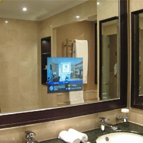 bathroom mirror with tv bathroom waterproof tv mirror tv 16274