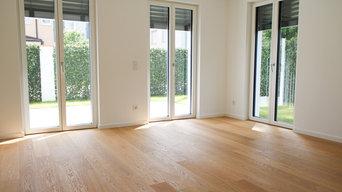 Villa München Landhausdielen weiss geölt