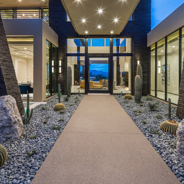 Modern Entry   Seven Hills   15101 by Pinnacle Architectural Studio