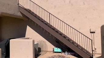 Steel Exterior Stair