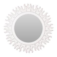 Theo Sunburst Hanging Wall Mirror