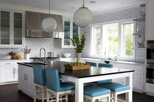 kitchen table island combination anyone do away with their kitchen table create an island table combo 9232