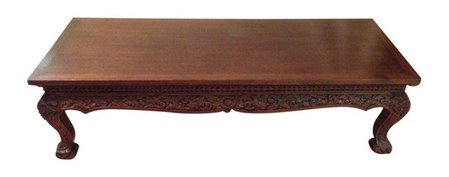 Antique Thai Teak Coffee Table