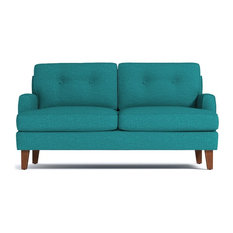 Apt2b Virgil Apartment Size Sofa Ocean Blue 68 X38 X30