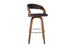 Shelly Swivel Bar Stool, 26""