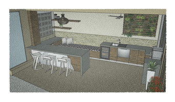 Outdoor Kitchen - Concept sketches