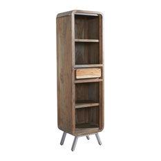 DJ Ford Retro Narrow Bookcase