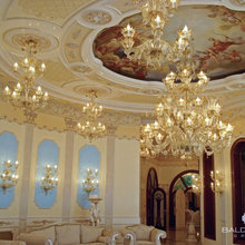 Restyling interni villa luxury Mosca (Russia)