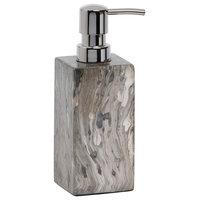 Vigo Gray Marble Lacquered Veneer Soap Pump