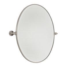 Bathroom Mirrors Oval oval bathroom mirrors   houzz