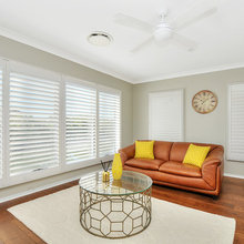 BASSWOOD WHITE SHUTTERS - 89mm BLADE