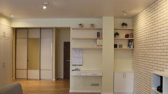 Квартира в скандинавском стиле с элементами экостиля