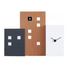 Walls Cucu 2275 Brown/White Wall Clock