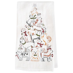 Contemporary Dish Towels by Universal Direct Brands