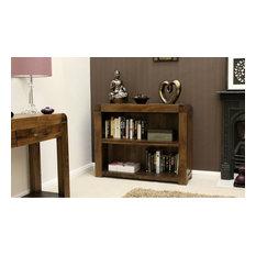 Bonsoni Shiro Walnut Low Bookcase