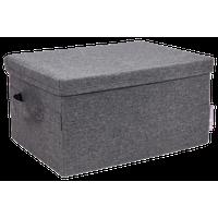 Soft Storage Box, Storage, Gray, Small