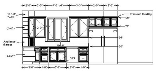 Need Cabinet Detail Dwg