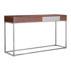 Giga Walnut Veneer Console Table
