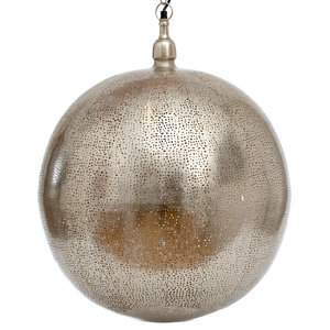 Moroccan Orb Pendant Light, Extra Large