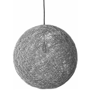 Sphere Modern Pendant Light, Grey, Large