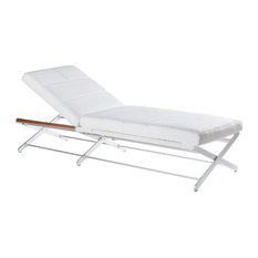 Oskar Chaise Lounge Synthetic Leather