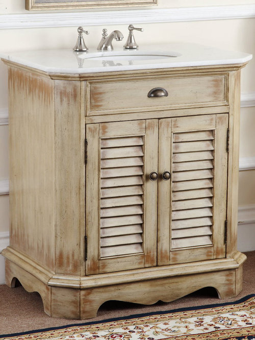 antique bathroom vanities. Black Bedroom Furniture Sets. Home Design Ideas