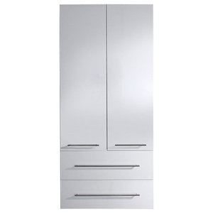 Emotion Full-Length Cabinet, Extra Large, White High-Gloss
