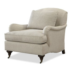 Gentil Universal Furniture Company   Universal Furniture Churchill Upholstered Arm  Chair In Linen   Armchairs And Accent