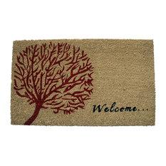 """""""Welcome"""" Tree Of Life Doormat"""