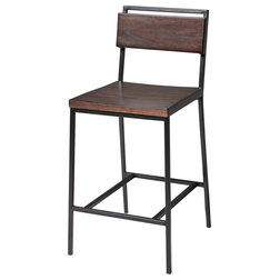 Industrial Bar Stools And Counter Stools by Fashion Bed Group