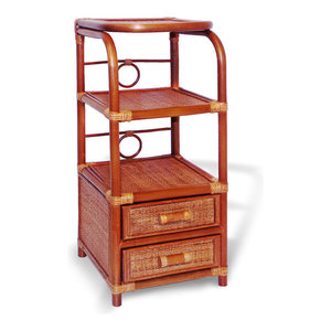 Phone Table And Organizer, Colonial By SK New Interiors
