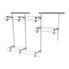ShelfTrack Adjustable Storage System
