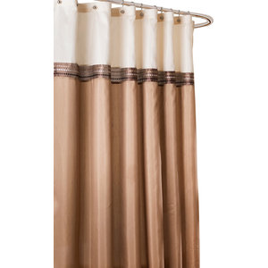 Terra Shower Curtain Beige And Ivory