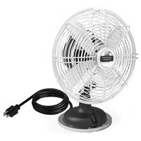 """Modern Forms 18"""" Oscillating Plug-in Desk Fan With 3-Speed Motor Control"""