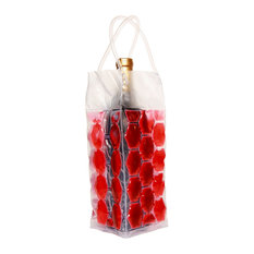 Wine Cooler Bag, Red, Set of 2