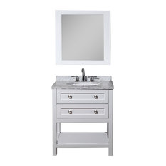 White Bathroom Vanity 30 Inch 30 inch white bathroom vanities | houzz