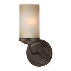 Sfera 1-Light Wall Bath Autumn Bronze