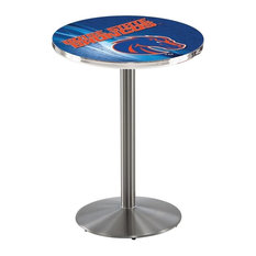 Boise State Pub Table 36-inchx42-inch by Holland Bar Stool Company