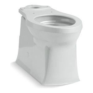 Marvelous Kohler 4144 0 Corbelle Comfort Height Elongated Toilet Bowl Dailytribune Chair Design For Home Dailytribuneorg