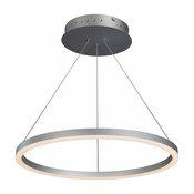 Tania Adjustable LED Chandelier, Silver