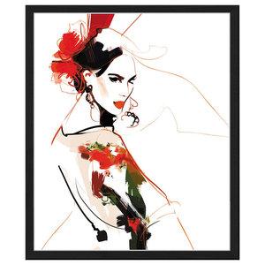 """""""Fashion Flair"""" Framed Print, 50x60 cm"""