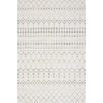 nuLOOM - Moroccan Trellis Rug, Gray, 9'x12' - Mark your floors with a statement piece that complements your contemporary space. The Moroccan Trellis Rug blends a pleasing pattern with a durable construction, making it a piece that can take the brunt of heavy foot traffic and look stylish doing it. The Moroccan adds an effortless twist to your work or living space, and each one is created with the utmost attention to detail and superior craftsmanship.