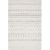 """nuLOOM - Moroccan Trellis Rug, Gray, 5'x7'5"""" - Mark your floors with a statement piece that complements your contemporary space. The Moroccan Trellis Rug blends a pleasing pattern with a durable construction, making it a piece that can take the brunt of heavy foot traffic and look stylish doing it. The Moroccan adds an effortless twist to your work or living space, and each one is created with the utmost attention to detail and superior craftsmanship."""