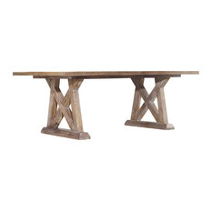 1st Avenue - Rexford Trestle Dining Table - Dining Tables