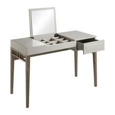 Vanessa Bedroom Desk, Pearl Grey