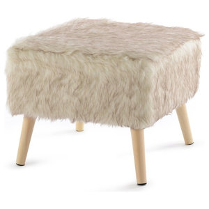 Prime Wooden Ottoman Off White And Brown Contemporary Andrewgaddart Wooden Chair Designs For Living Room Andrewgaddartcom