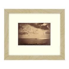 """""""The Brig"""" Sepia Tone Framed Photo, 11""""X14"""""""