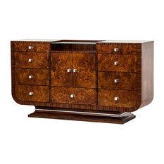Aico Cloche 9 Drawer Dresser Bourbon 10050-32