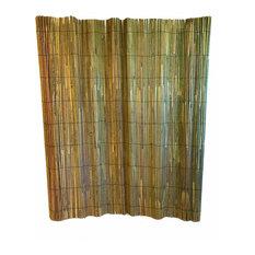 Bamboo Slat Fence 5'H x 15'L